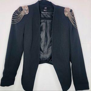 H&M women's blazer size 2